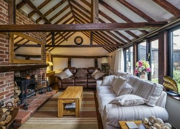 Thumbnail 4 bed barn conversion for sale in Toft Monks, Beccles, Norfolk