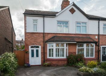 Thumbnail 4 bed semi-detached house for sale in Grove Lane, Hale, Altrincham