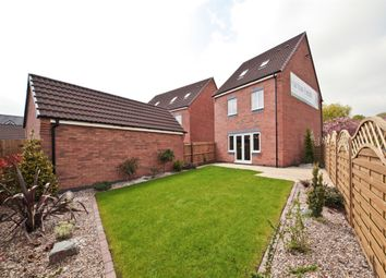 "Thumbnail 4 bedroom town house for sale in ""The Leicester"" at Northborough Way, Boulton Moor, Derby"
