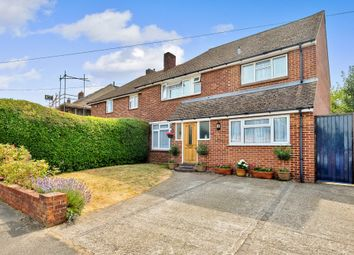Thumbnail 4 bed semi-detached house for sale in Arundel Drive, Chelsfield, Orpington