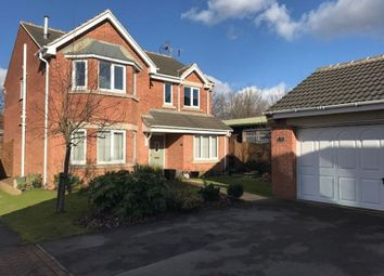 Thumbnail 4 bed detached house for sale in Guylers Hill Drive, Clipstone Village, Mansfield