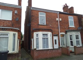 Thumbnail 2 bed semi-detached house for sale in Curzon Street, Gainsborough