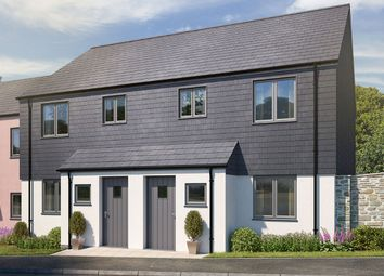 "Thumbnail 3 bed terraced house for sale in ""The Kedleston"" at Blackawton, Totnes"