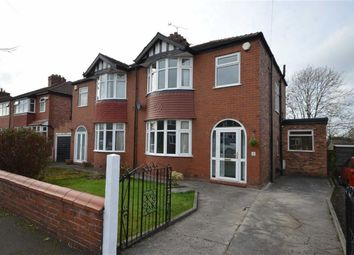 Thumbnail 3 bed semi-detached house for sale in Halesden Road, Heaton Chapel, Stockport, Greater Manchester