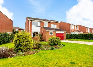 Thumbnail 4 bed detached house for sale in Nairn Close, Woodthorpe, York