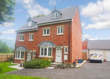 Thumbnail 4 bed semi-detached house for sale in Mametz Grove, Gilwern, Abergavenny