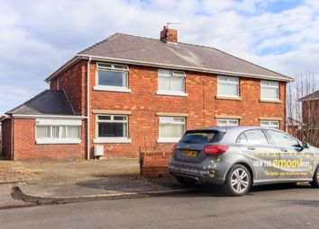 Thumbnail 3 bed semi-detached house for sale in Links View, Ashington
