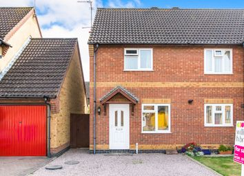 Thumbnail 2 bed semi-detached house for sale in Pettit Way, Fishtoft, Boston