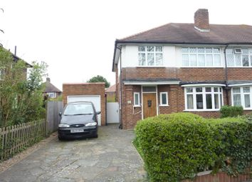 Thumbnail 3 bed property for sale in Malden Green Avenue, Worcester Park