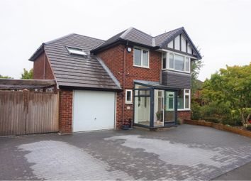 Thumbnail 4 bed detached house for sale in Crossway, Stockport