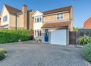 Thumbnail 3 bed detached house for sale in Coltsfoot Close, Ixworth, Bury St. Edmunds