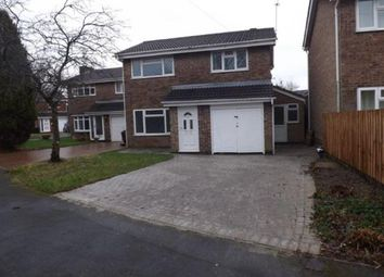 Thumbnail 4 bedroom detached house for sale in Windsor Close, Coalville