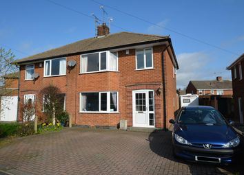 Thumbnail 3 bed semi-detached house for sale in Rose Avenue, Calow, Chesterfield