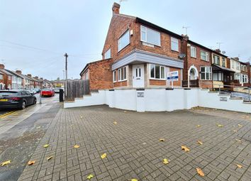 Thumbnail 1 bed flat to rent in Blackbird Road, Leicester