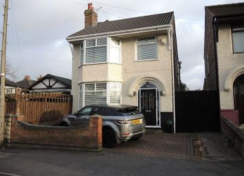 Thumbnail 3 bed detached house for sale in Alcester Road, West Derby, Liverpool