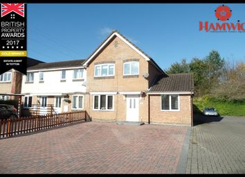 Thumbnail 3 bedroom end terrace house for sale in Springfield Drive, Totton