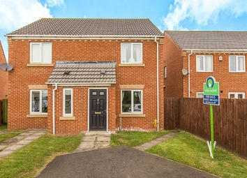 Thumbnail 2 bed semi-detached house for sale in Ridgewood Close, Darlington