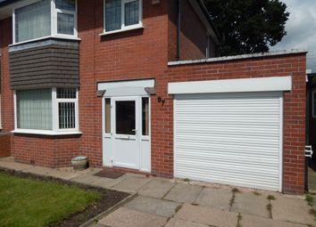 Thumbnail 3 bedroom semi-detached house to rent in Clough Hall Road, Kidsgrove