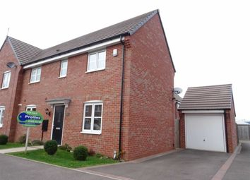 Thumbnail 3 bed semi-detached house for sale in Bonneville Road, Hinckley