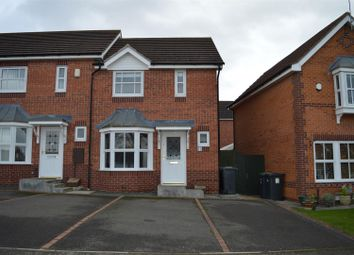 Thumbnail 2 bed semi-detached house for sale in Victory Way, Sleaford