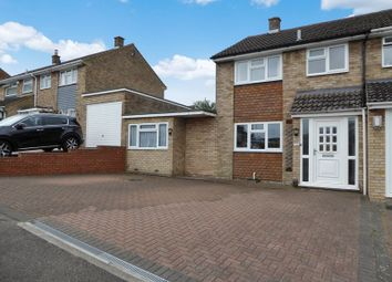 Thumbnail 4 bed semi-detached house for sale in Kirkstone Drive, Dunstable