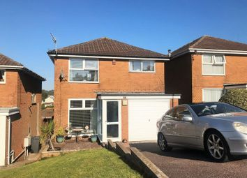 Thumbnail 3 bed detached house for sale in Culm Close, Torquay