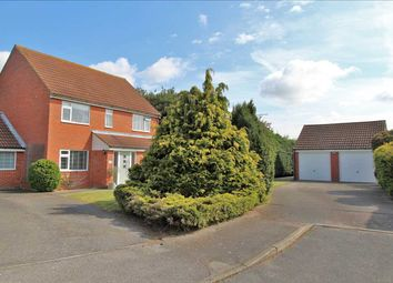 Thumbnail 4 bed detached house for sale in Chestnut Close, Rushmere St. Andrew, Ipswich