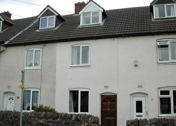 Thumbnail 2 bed terraced house to rent in Peggs Close, Measham