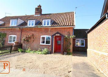 Thumbnail 3 bed cottage for sale in Shop Lane, Little Glemham, Woodbridge, Suffolk