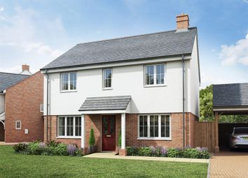 "Thumbnail 4 bed detached house for sale in ""The Chedworth Corner"" at Rattle Road, Stone Cross, Pevensey"