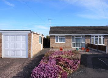 Thumbnail 2 bed semi-detached bungalow for sale in Milton Close, Shrewsbury