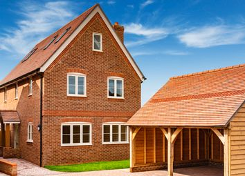 Thumbnail 4 bed detached house for sale in Orchard Gate, Ropley, Alresford