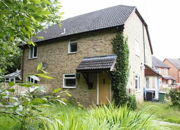 Thumbnail 1 bed end terrace house for sale in Ajax Close, Chineham, Basingstoke
