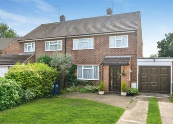 Thumbnail 3 bed semi-detached house for sale in Pomeroy Close, Amersham, Buckinghamshire