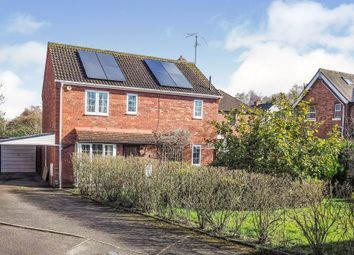 Thumbnail 4 bed detached house for sale in The Deer Leap, Kenilworth
