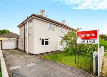 Thumbnail 3 bed semi-detached house for sale in Ullswater Road, Southmead, Bristol
