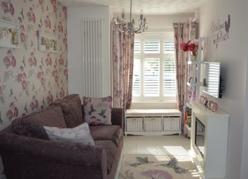 Thumbnail 3 bed terraced house to rent in Concorde Drive, London
