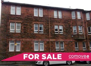 Thumbnail 2 bedroom flat for sale in King Street, Port Glasgow