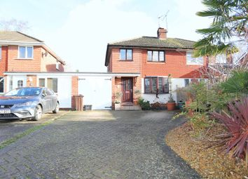 Thumbnail 2 bedroom semi-detached house for sale in Quentin Road, Woodley, Reading