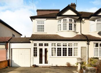 Thumbnail 4 bed semi-detached house for sale in Norman Avenue, Sanderstead, South Croydon, .