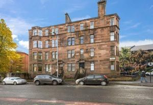 Thumbnail 3 bed flat to rent in Hyndland Road, West End, Glasgow
