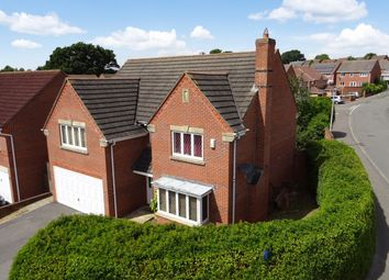 Thumbnail 4 bed detached house for sale in Hawthorne Close, Thatcham