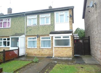 Thumbnail 3 bed property to rent in Dingley Court, Westwood, Peterborough