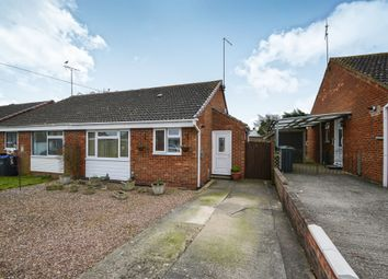 Thumbnail 2 bed semi-detached bungalow for sale in Coleridge Close, Royal Wootton Bassett, Swindon