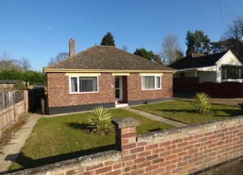 Thumbnail 3 bedroom detached bungalow to rent in Centre Drive, Newmarket, Suffolk