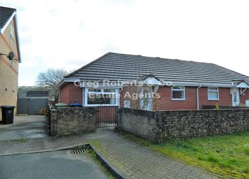 Thumbnail 2 bed bungalow for sale in Ty Bryn, Tredegar, Blaenau Gwent.