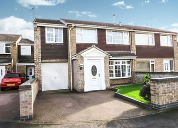 Thumbnail 4 bed semi-detached house for sale in Gardner Close, Loughborough