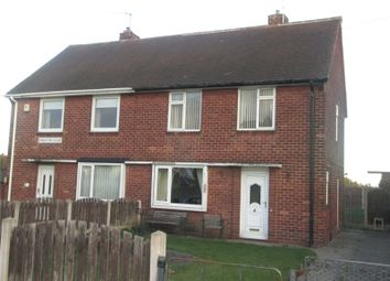 Thumbnail 2 bed semi-detached house for sale in Kingston Close, Worksop, Nottinghamshire