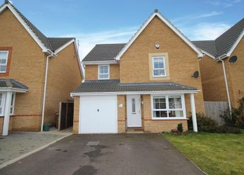 Thumbnail 4 bed detached house for sale in Blackbird Road, Corby