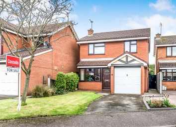 Thumbnail 3 bed detached house for sale in Nursery Drive, Penkridge, Stafford
